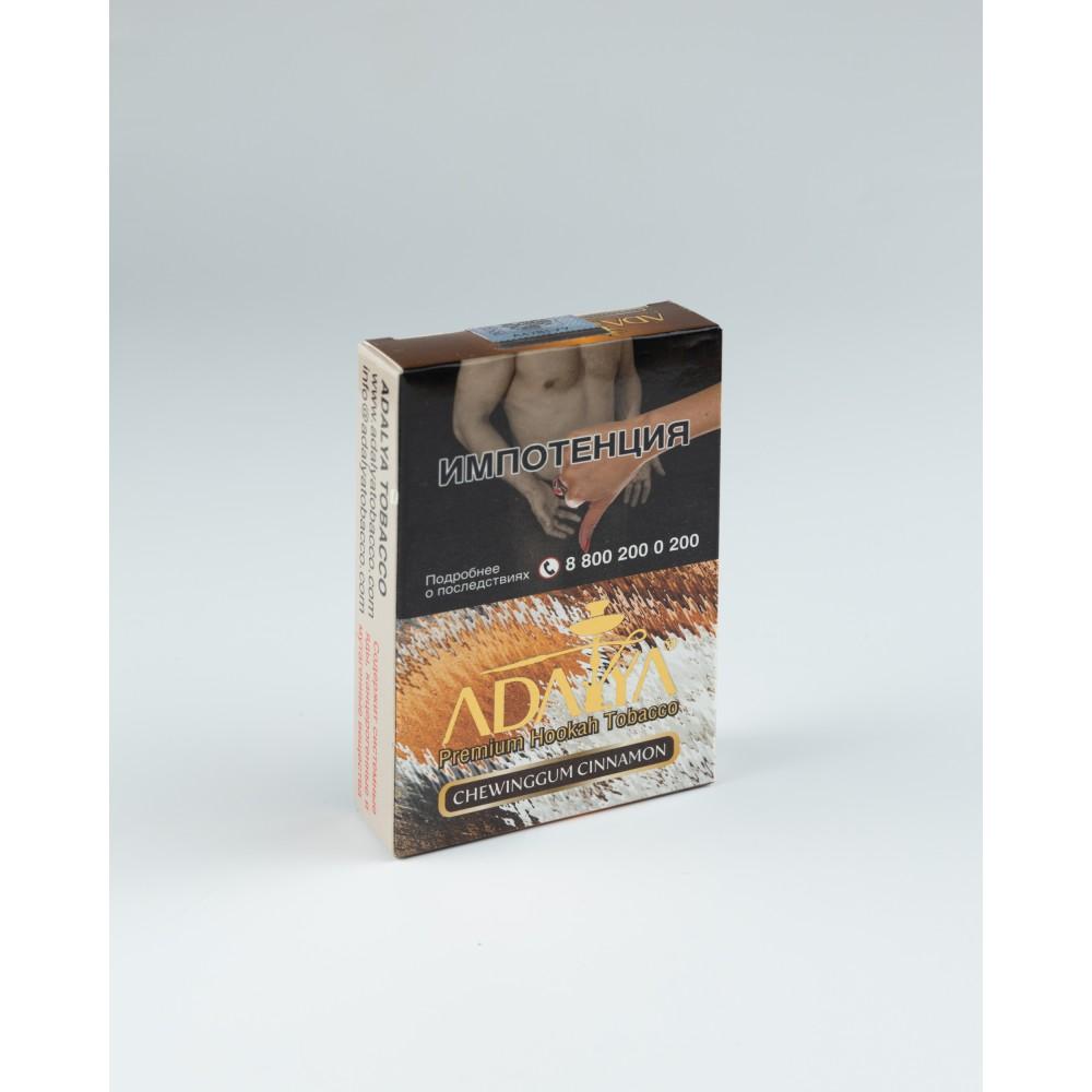 Табак для кальяна Adalya - Chewing Gum-Mint-Cinnamon (Жевательная резинка с мятой и корицей)