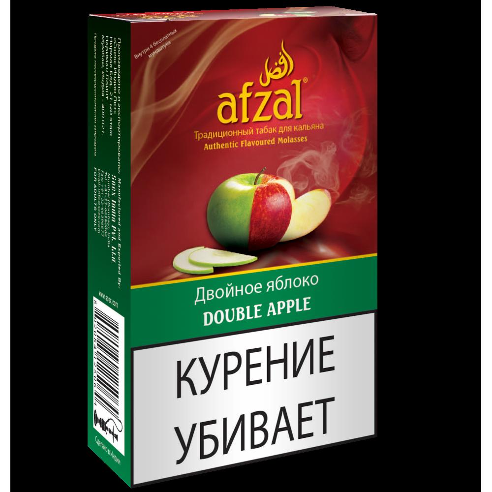 Табак для кальяна Afzal - Двойное Яблоко (Double Apple)