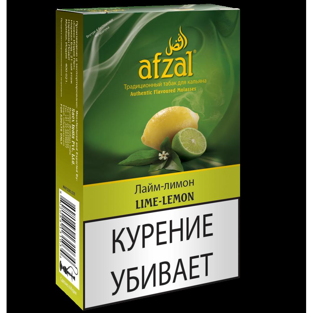 Табак для кальяна Afzal - Лайм-Лимон (Lime-Lemon)
