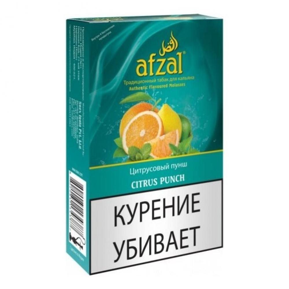 Табак для кальяна Afzal - Цитрусовый пунш (Citrus Punch)