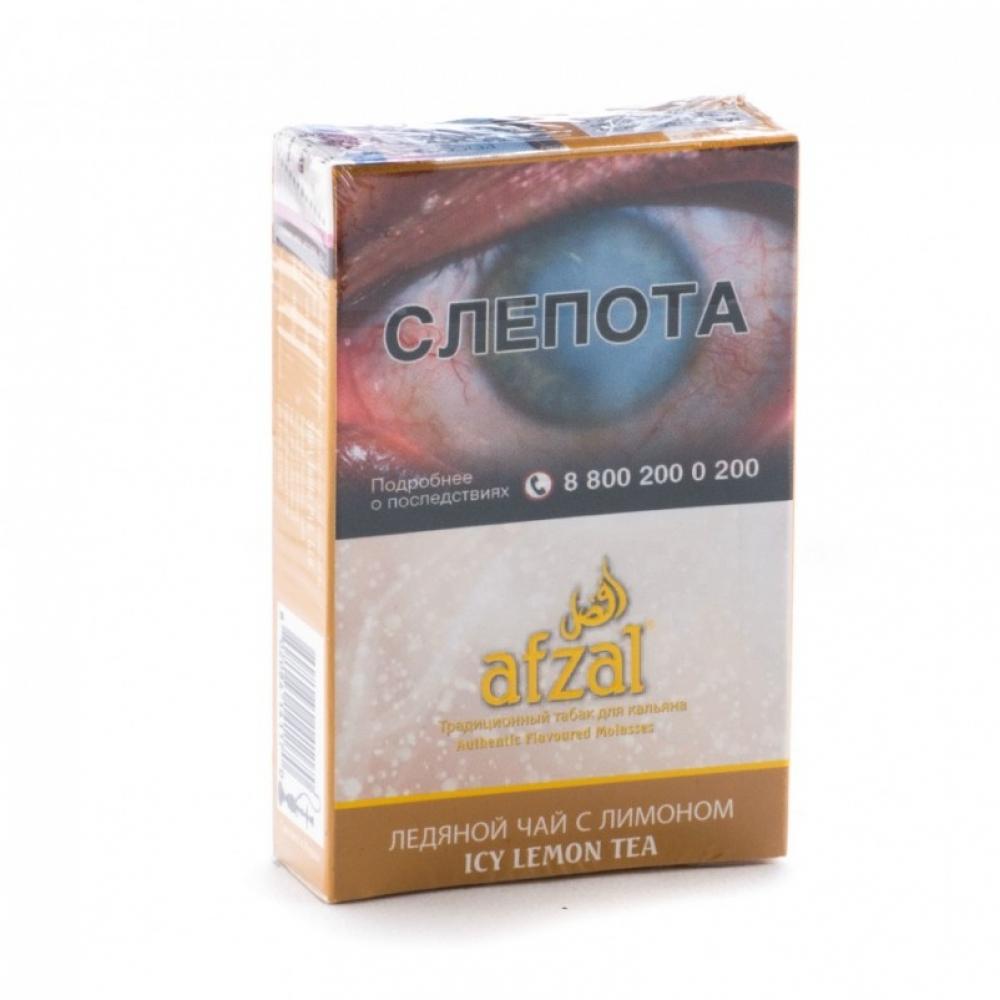 Табак для кальяна Afzal - Ледяной Чай с Лимоном (Icy Lemon Tea)