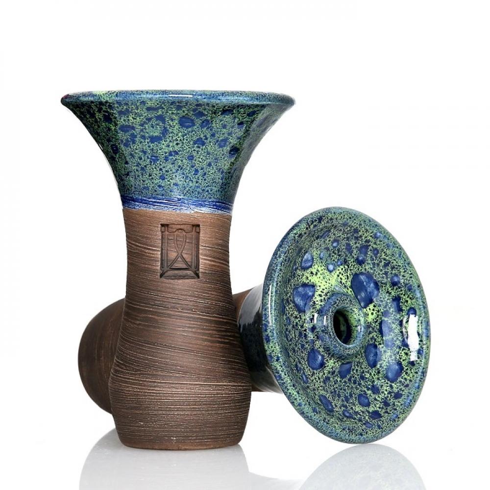 Чаша для кальяна Werkbund Evo Deep Coral Blue Green