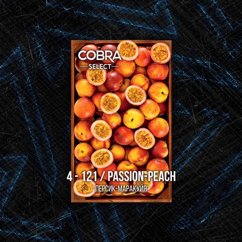 Табак для кальяна Cobra Select - Passion Peach (Персик-Маракуйя)