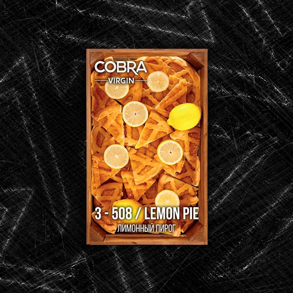Бестабачная смесь Cobra Virgin - Lemon Pie (Лимонный пирог)