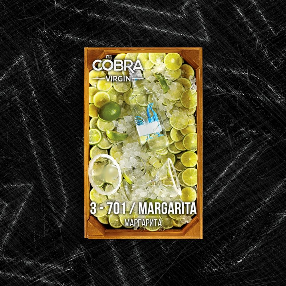 Бестабачная смесь Cobra Virgin - Margarita (Коктейль Маргарита)
