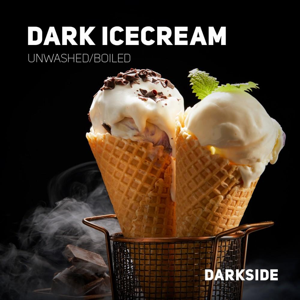 Табак для кальяна Dark Side Core - Dark Icecream (Шоколадное Мороженое)