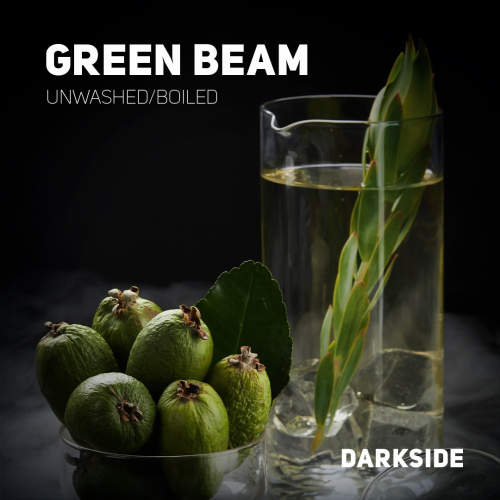 Табак для кальяна Dark Side Core - Green Beam (Фейхоа)