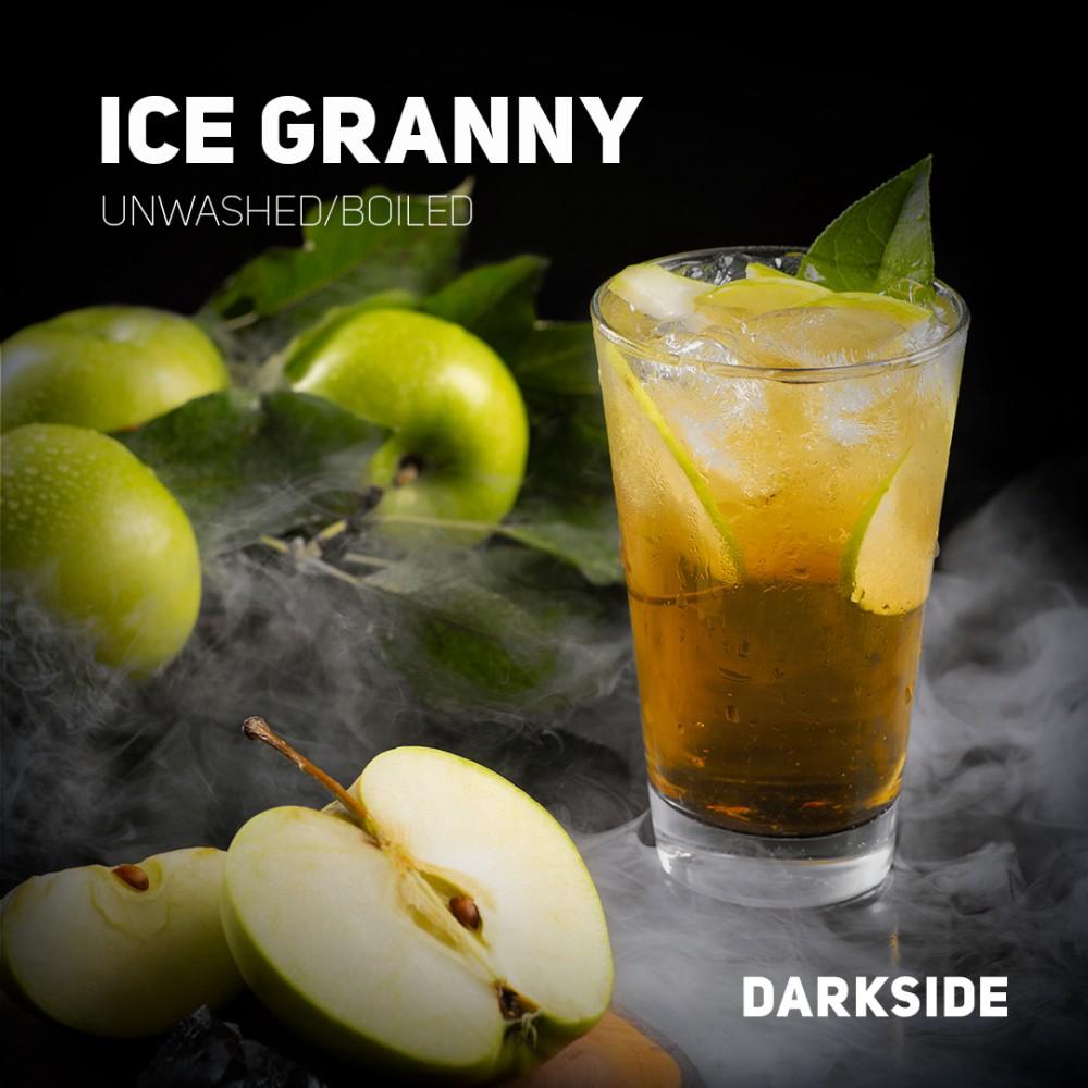 Табак для кальяна Dark Side Core - Ice Granny (Ледяное яблоко)