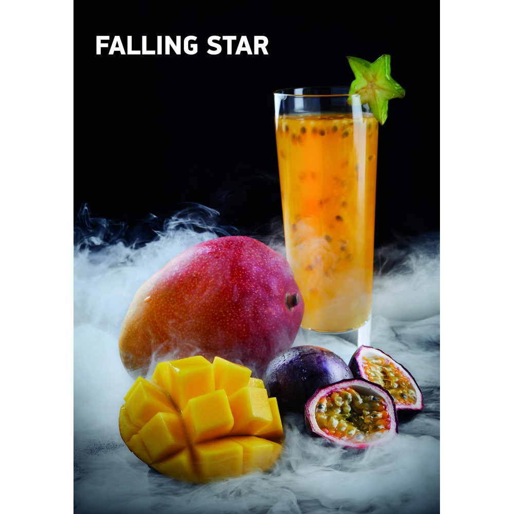 Табак для кальяна Dark Side Rare - Falling Star (Манго Маракуйя)