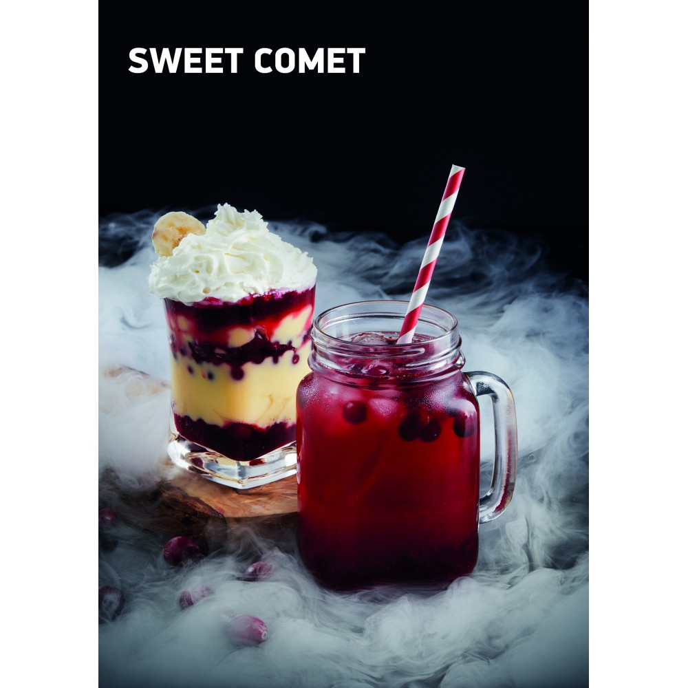Табак для кальяна Dark Side Rare - Sweet Comet (Клюква + Банан)