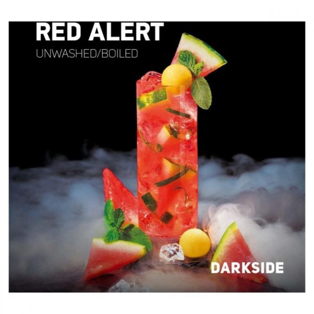 Табак для кальяна Dark Side Core - Red Alert (Арбуз-дыня)