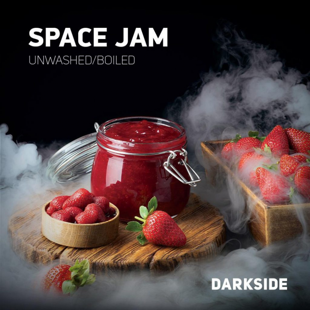 Табак для кальяна Dark Side Core - Space Jam (Клубничный Джем)