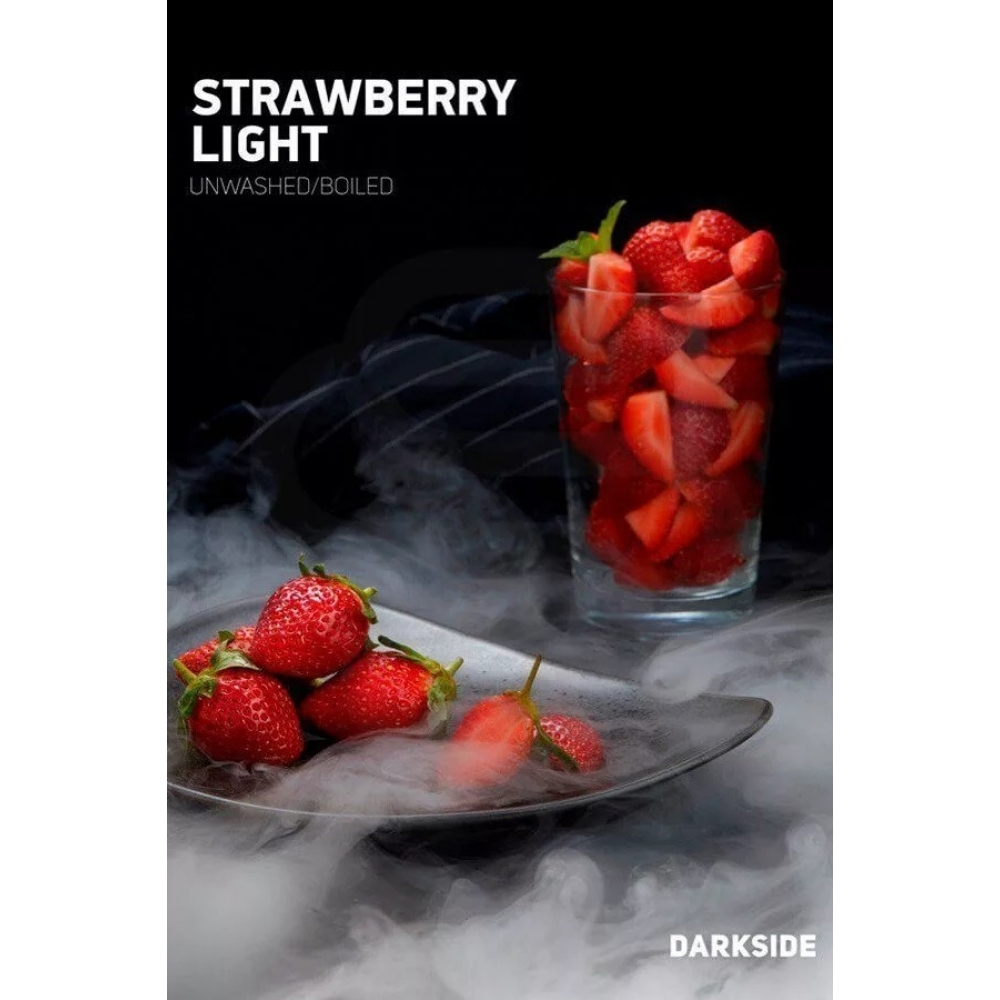 Табак для кальяна Dark Side Core - Strawberry Light (Клубника)