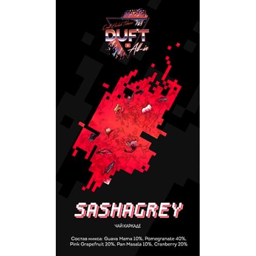Табак для кальяна Duft All-In- Sashagrey (Красный чай)