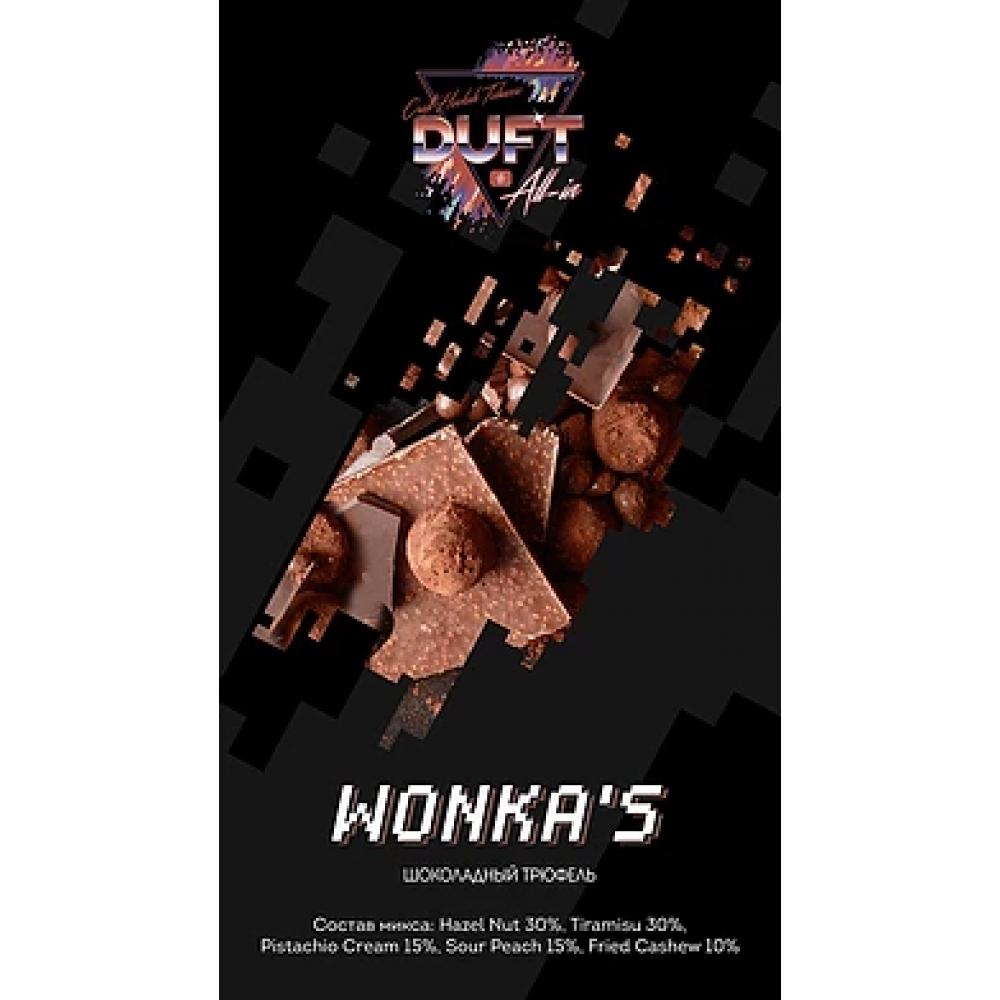 Табак для кальяна Duft All-In- Wonka's (Шоколадный трюфель)
