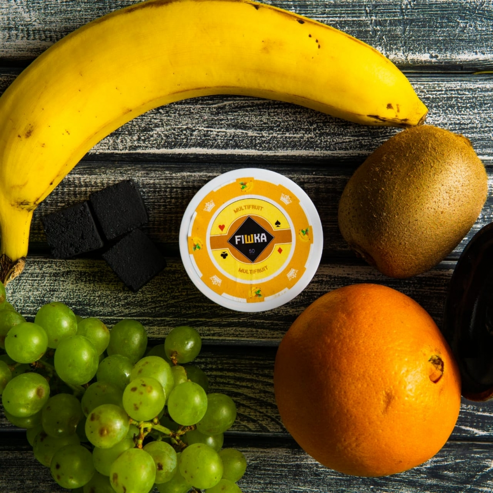 Бестабачная смесь FIШКА - Multifruit (Мультифрукт)
