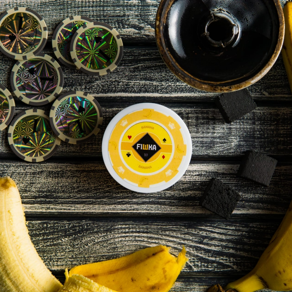 Бестабачная смесь FIШКА - Banana (Банан)