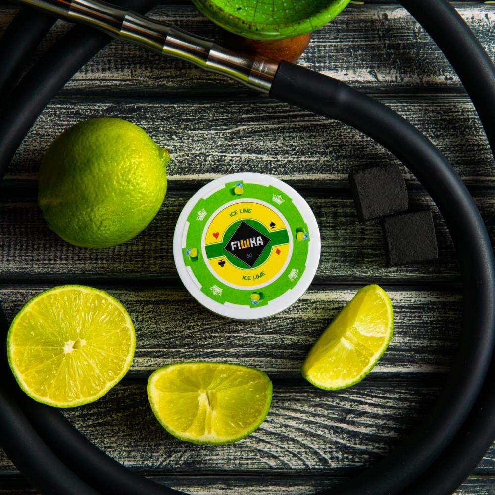 Бестабачная смесь FIШКА - Ice Lime (Ледяной лайм)