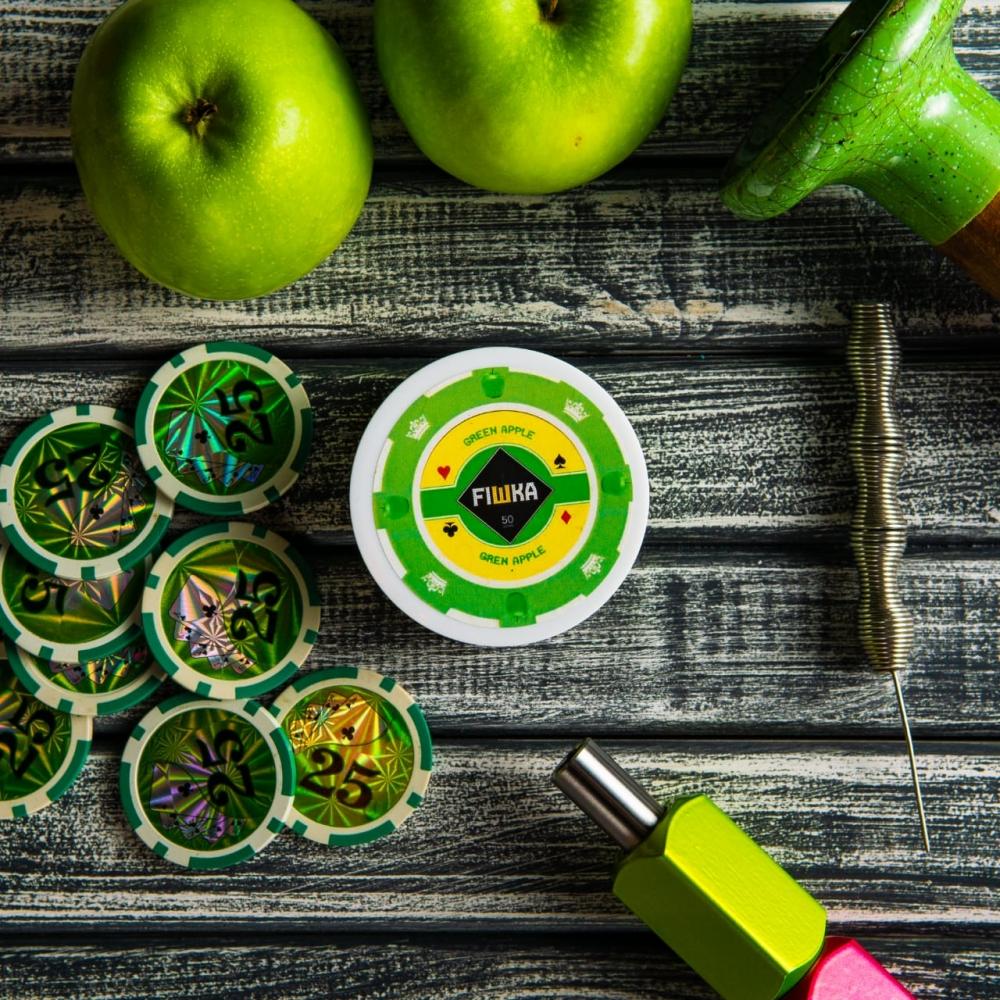 Бестабачная смесь FIШКА - Green Apple (Зеленое яблоко)