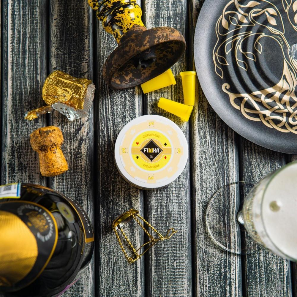Бестабачная смесь FIШКА - Champagne (Шампанское)