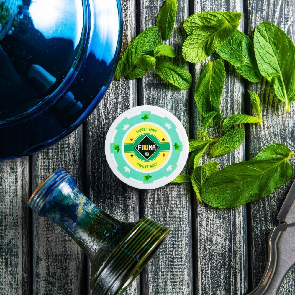 Бестабачная смесь FIШКА - Sweet Mint (Мята)
