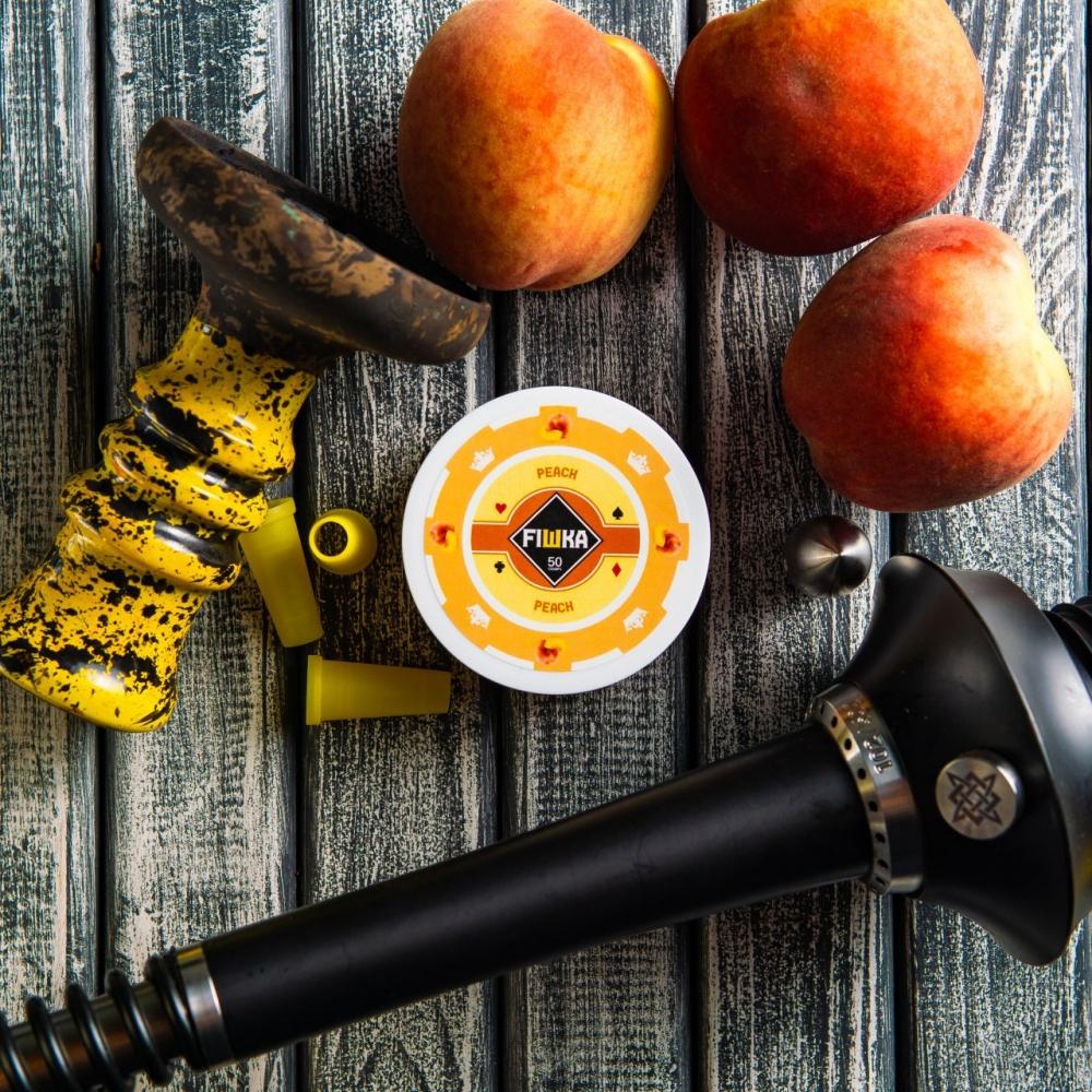 Бестабачная смесь FIШКА - Peach (Персик)