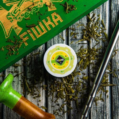 Бестабачная смесь FIШКА - Green Tea (Зеленый чай)
