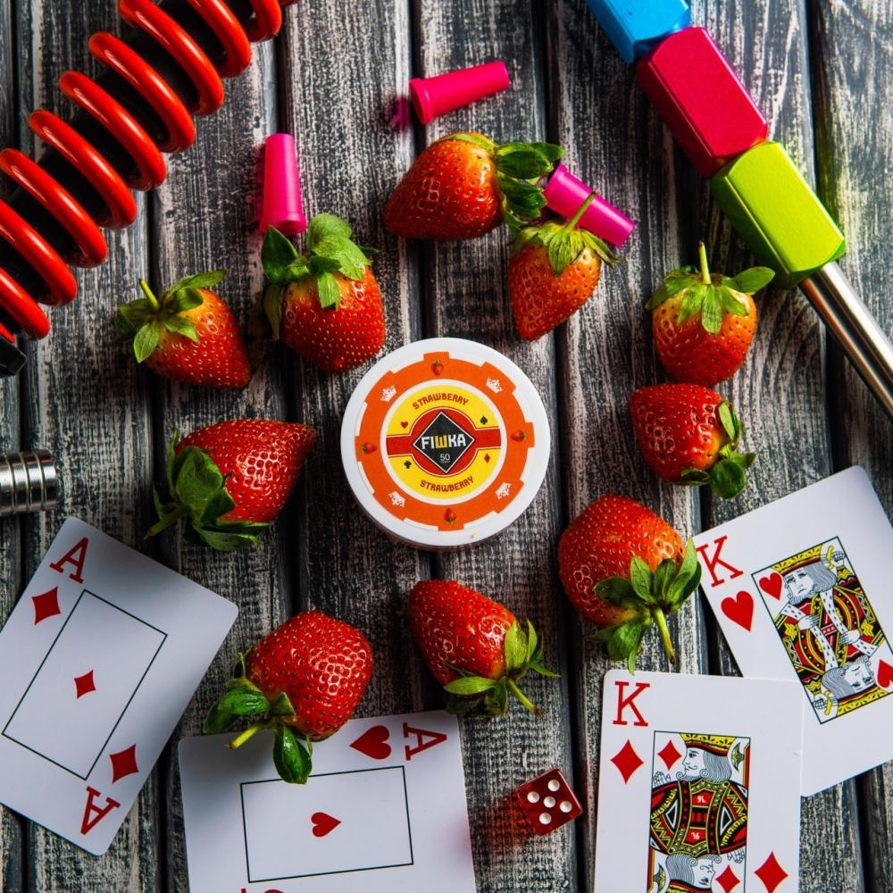 Бестабачная смесь FIШКА - Strawberry (Клубника)