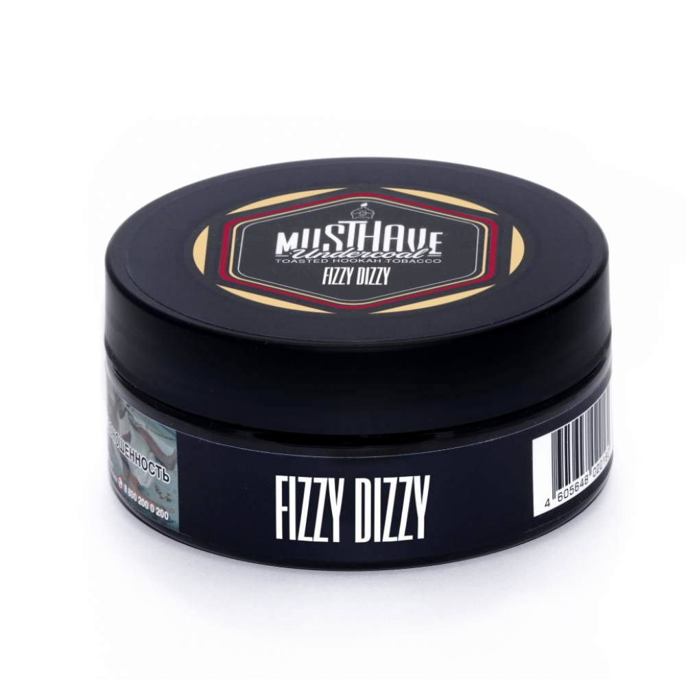 Табак для кальяна MustHave - Fizzy Dizzy (Шампанское, барбарис)