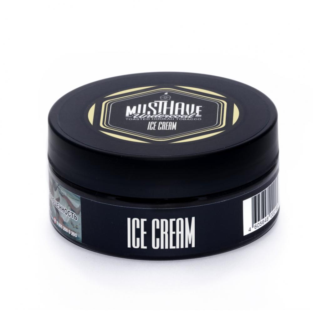 Табак для кальяна MustHave - Ice cream (Мороженое)