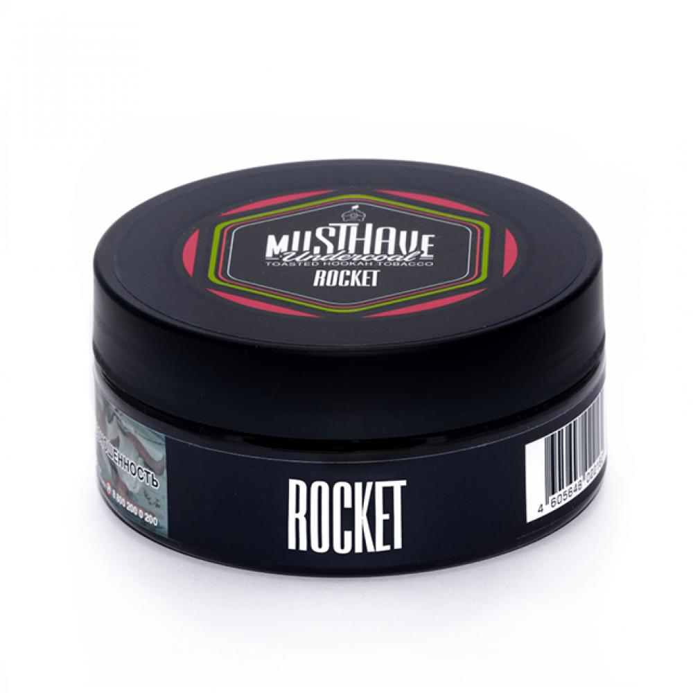 Табак для кальяна MustHave - Rocket (Клубничная содовая, киви, грейпфрут)