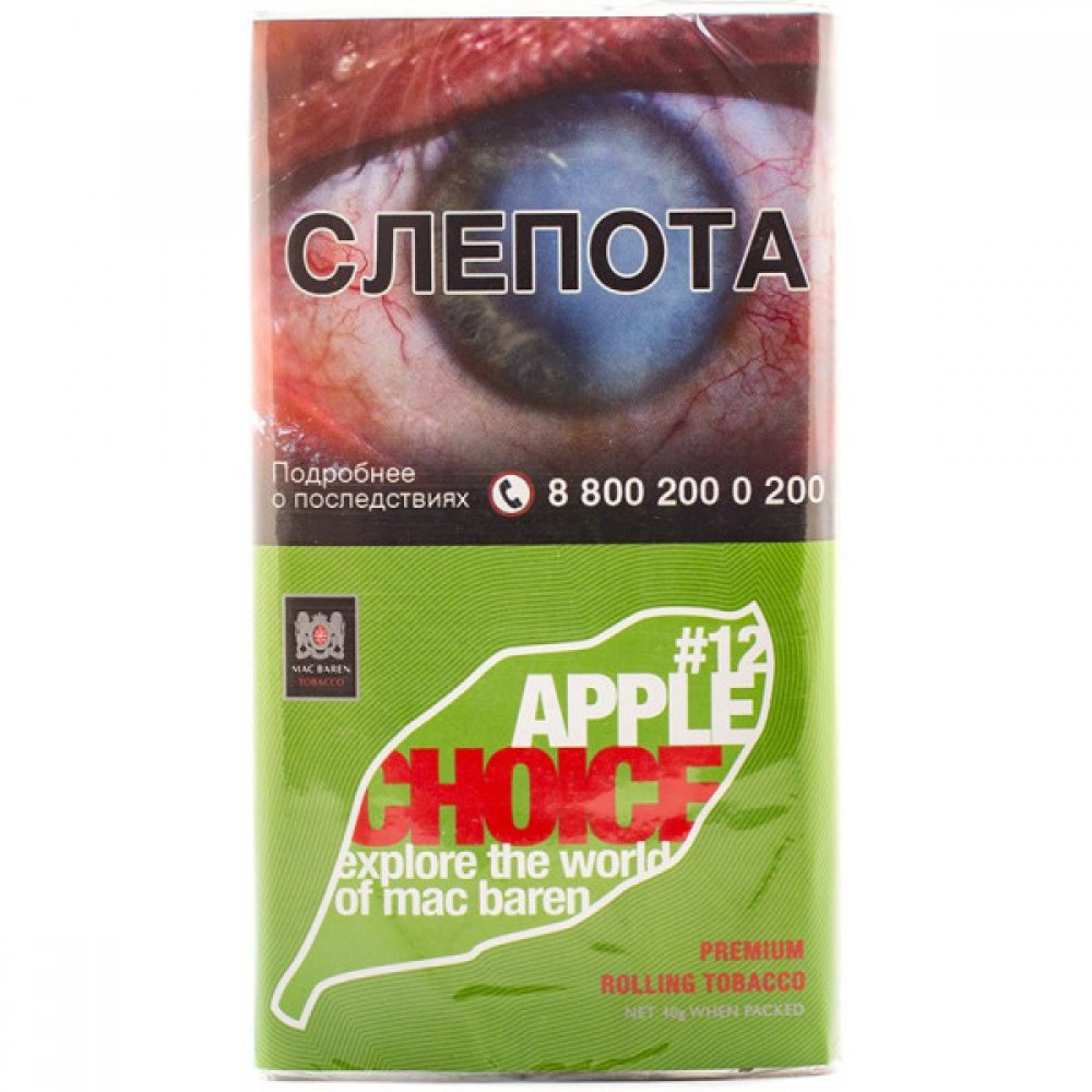 Табак для самокруток Mac Baren Choice - Apple