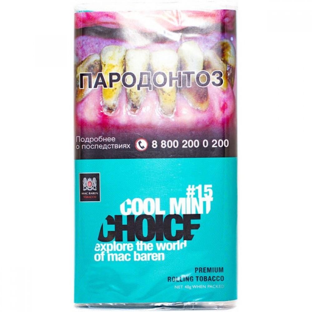 Табак для самокруток Mac Baren Choice - Cool Mint