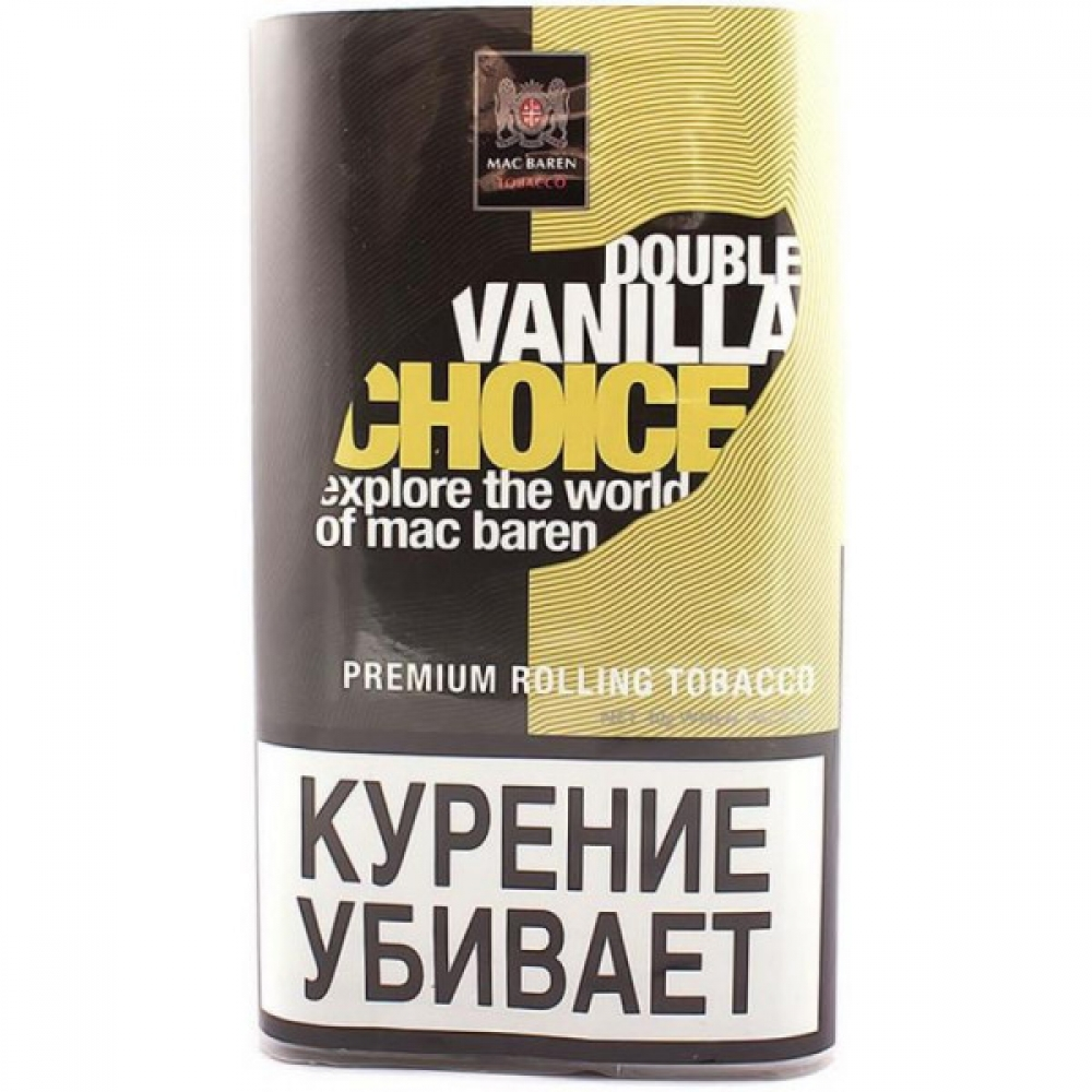Табак для самокруток Mac Baren Choice - Double Vanilla