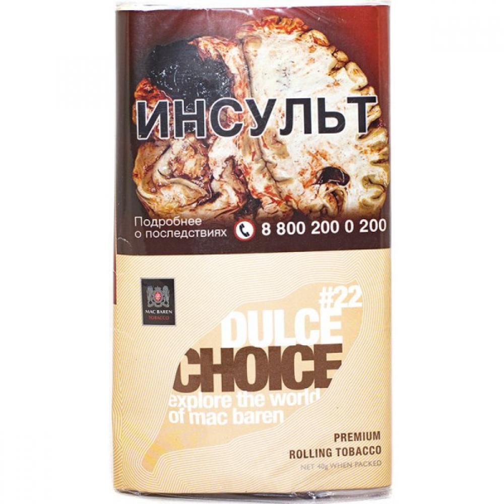 Табак для самокруток Mac Baren Choice - Dulce