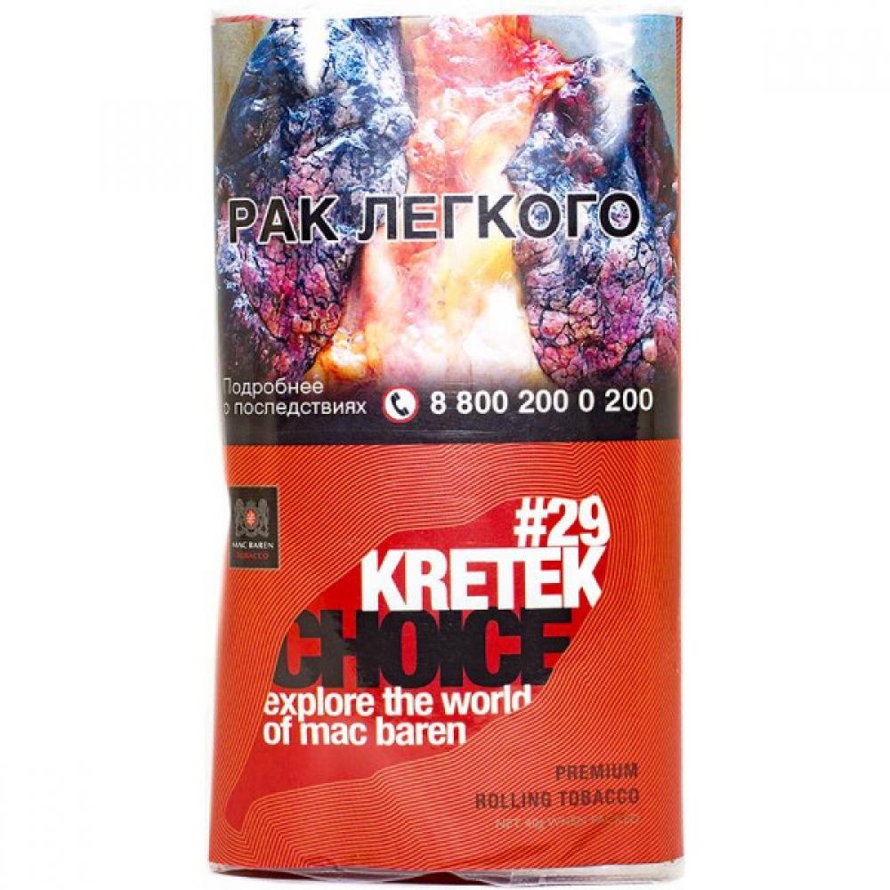 Табак для самокруток Mac Baren Choice - Kretek