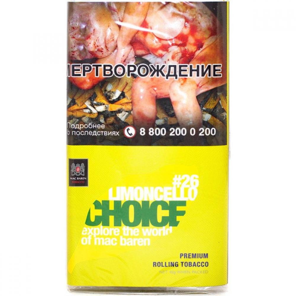 Табак для самокруток Mac Baren Choice - Limoncello