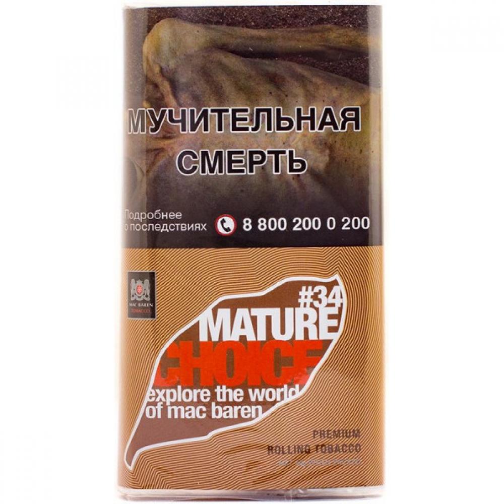 Табак для самокруток Mac Baren Choice - Mature