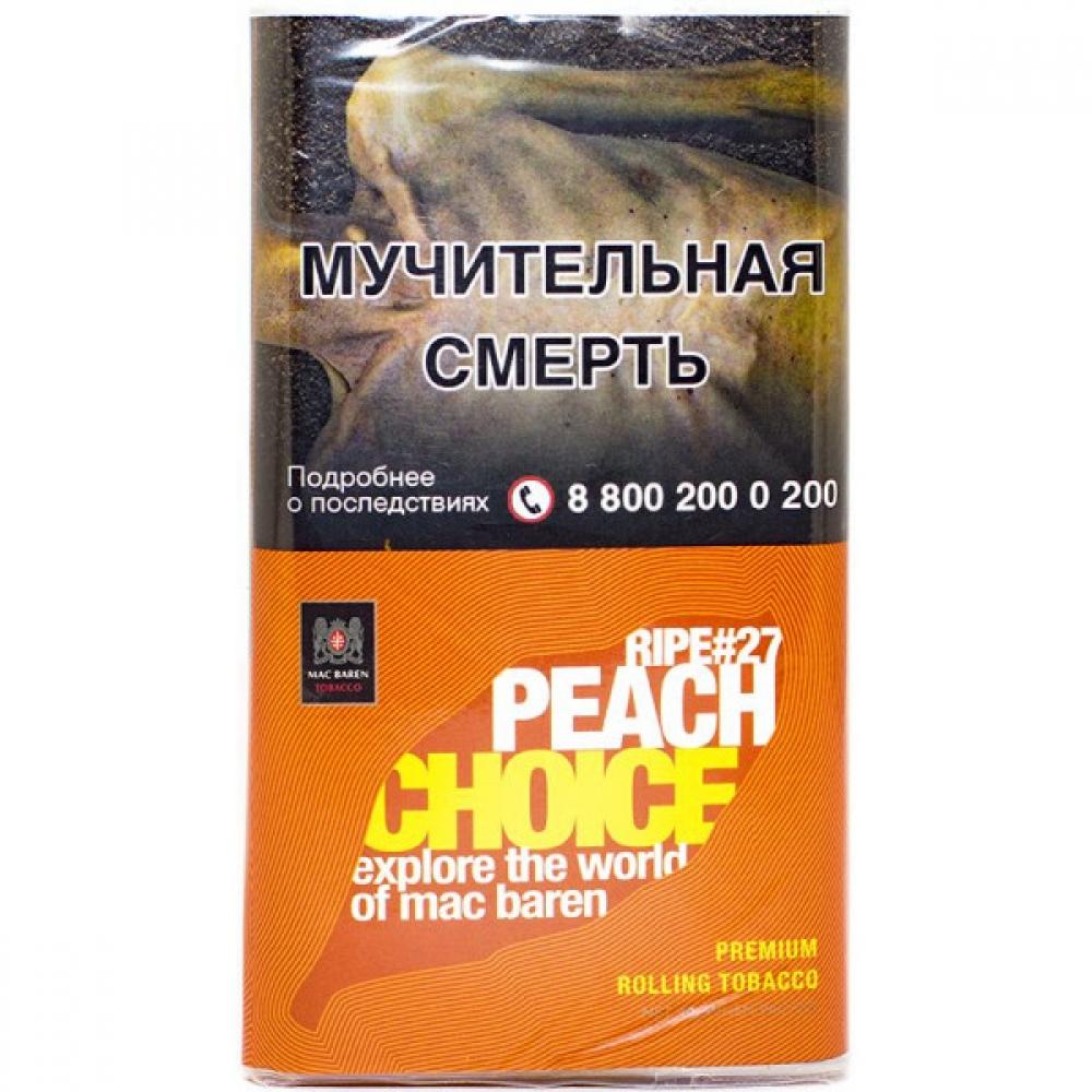 Табак для самокруток Mac Baren Choice - Peach