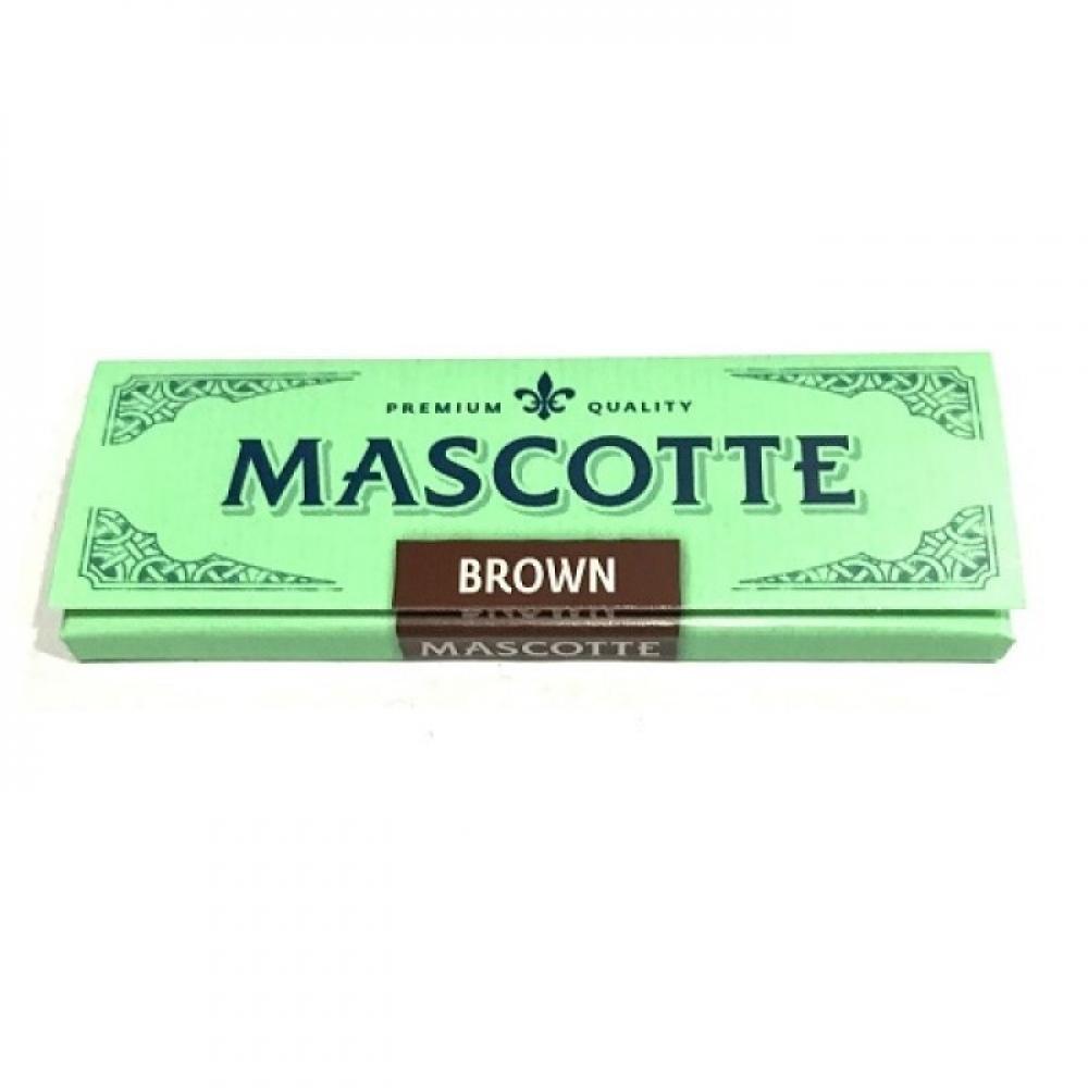 Бумага для самокруток Mascotte Brown Regular 50 листов