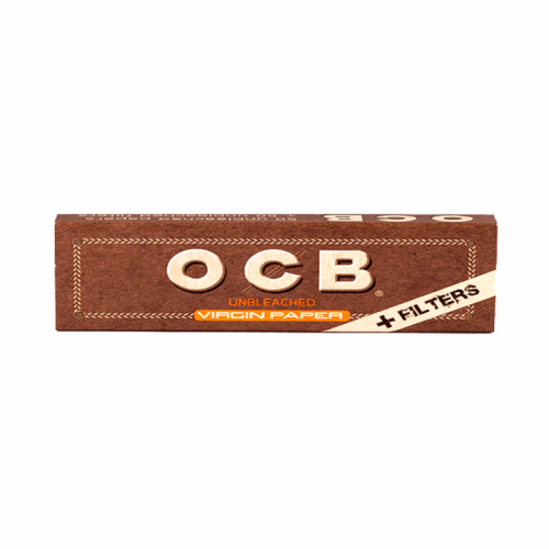 Бумага O.C.B. Virgin Unbleached + Фильтры