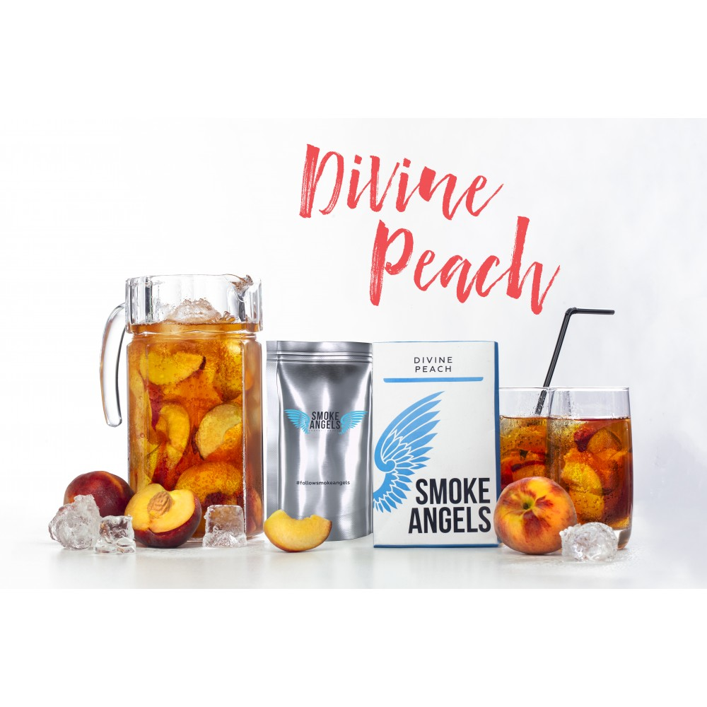 Табак для кальяна Smoke Angels - Divine Peach (Божественный Персик)
