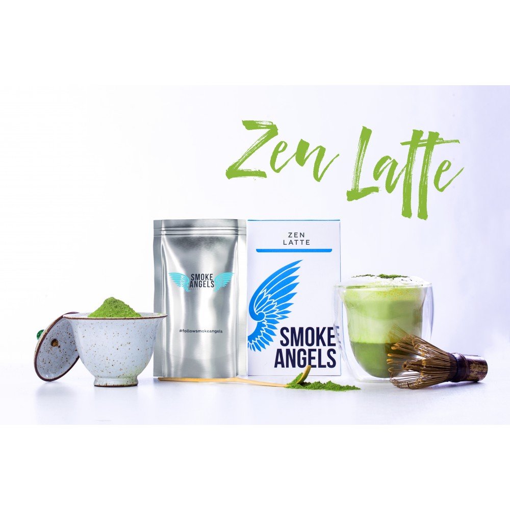Табак для кальяна Smoke Angels - Zen Latte (Чай Матча)