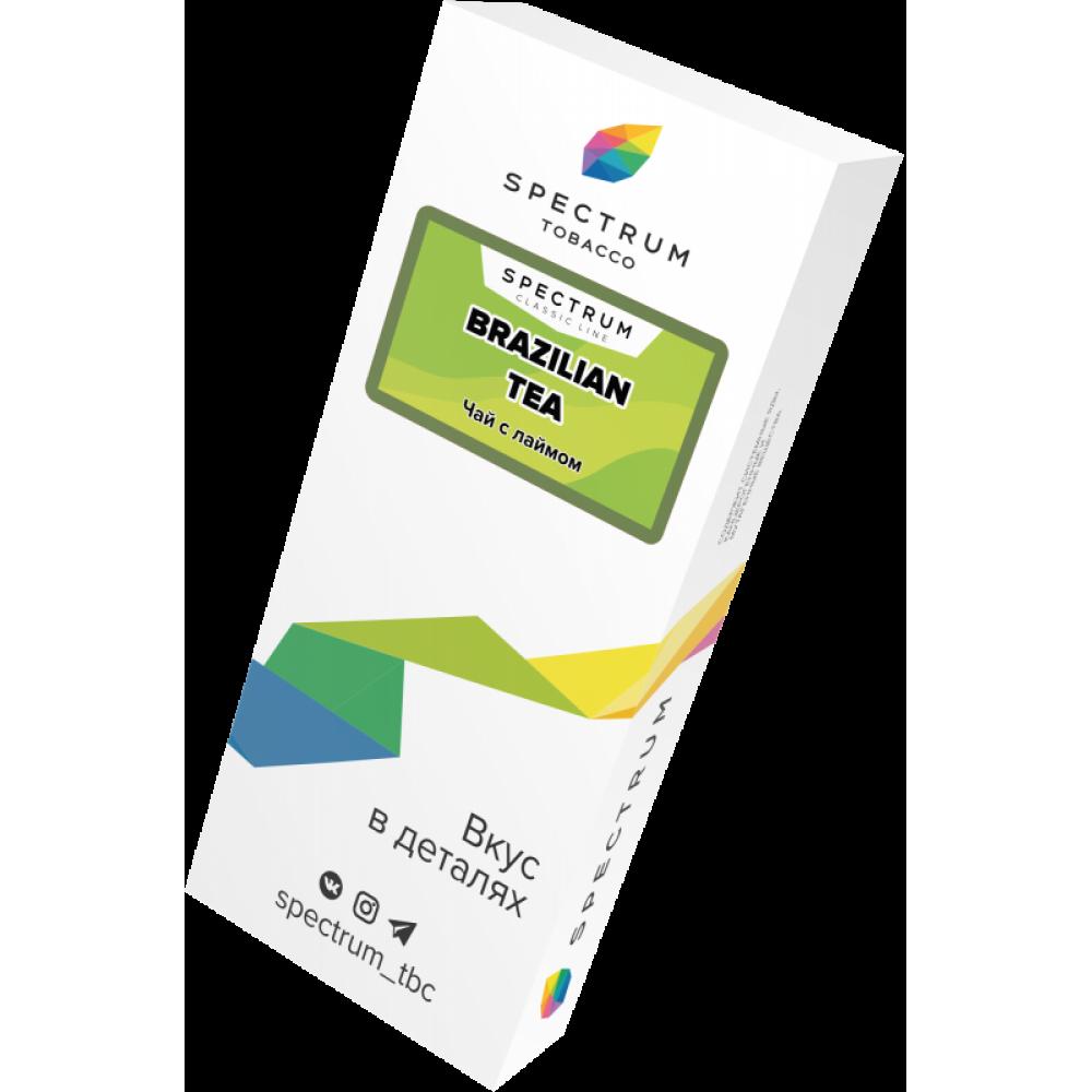 Табак для кальяна Spectrum - Brazilian tea (Чай с лаймом)
