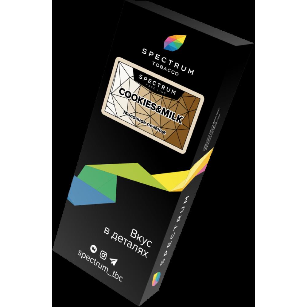 Табак для кальяна Spectrum Hard Line - Cookies and Milk (Печенье с молоком)