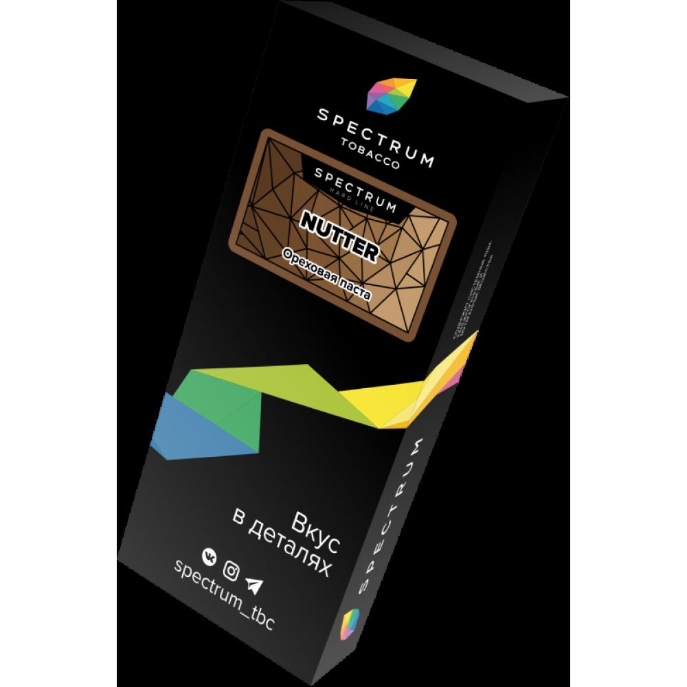 Табак для кальяна Spectrum Hard Line - Nutter (Ореховая паста)