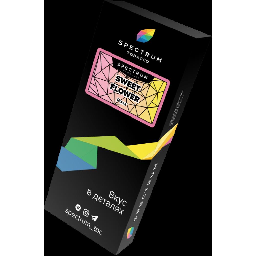 Табак для кальяна Spectrum Hard Line - Sweet Flower (Роза)