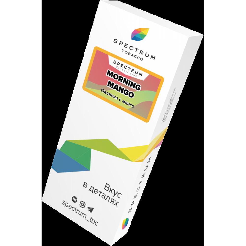 Табак для кальяна Spectrum - Morning Mango (Овсянка с манго)