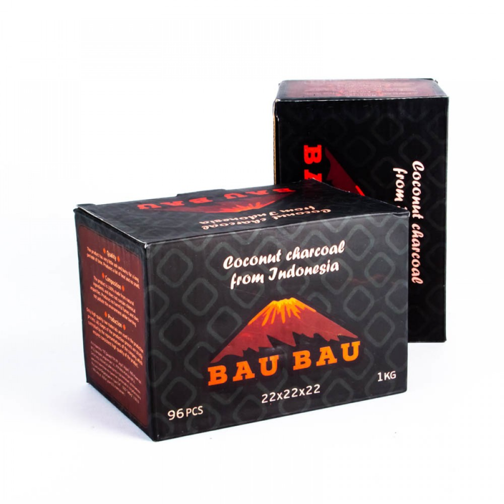 Уголь для кальяна Bau Bau (22) 96 шт.