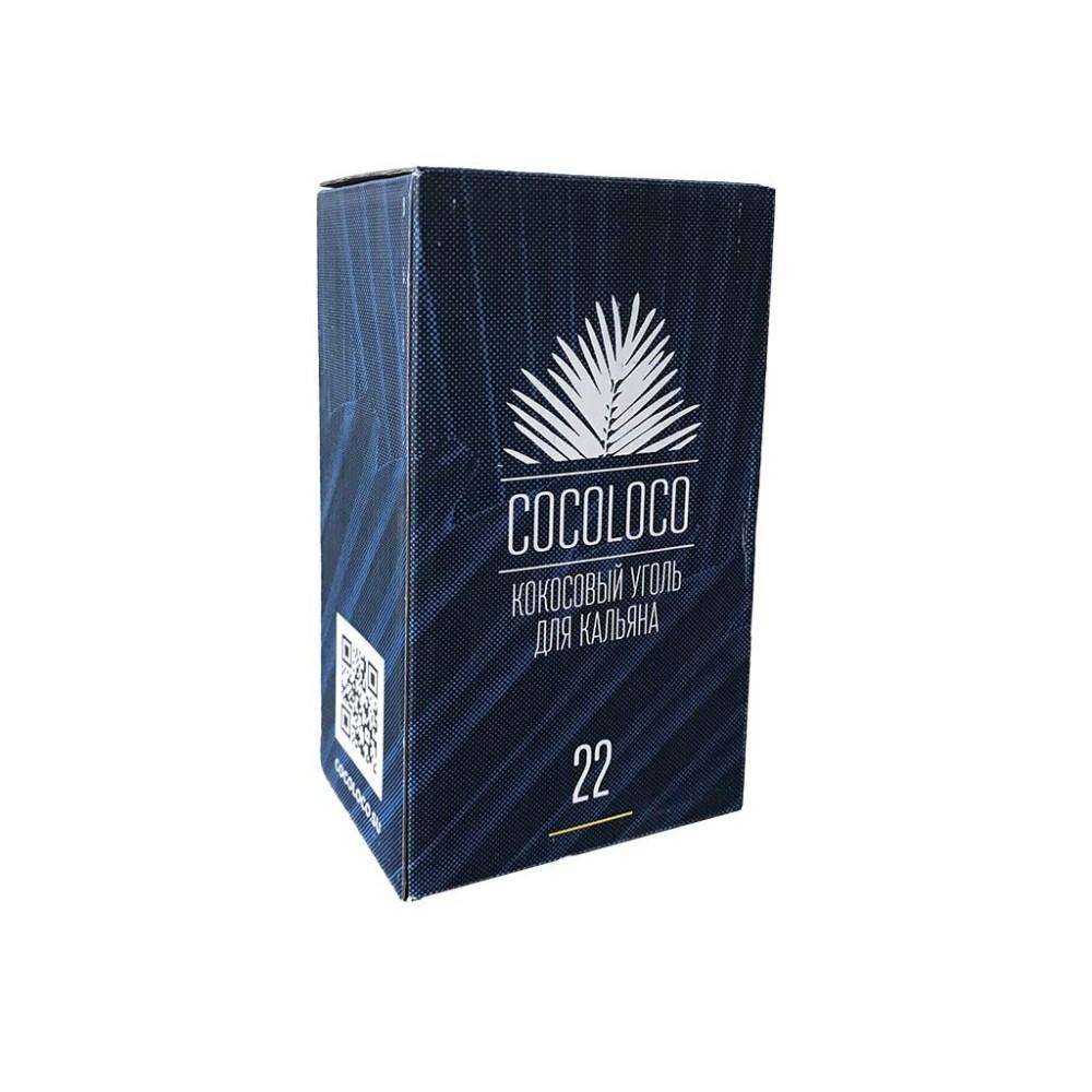Уголь для кальяна Cocoloco (22) 96 шт.